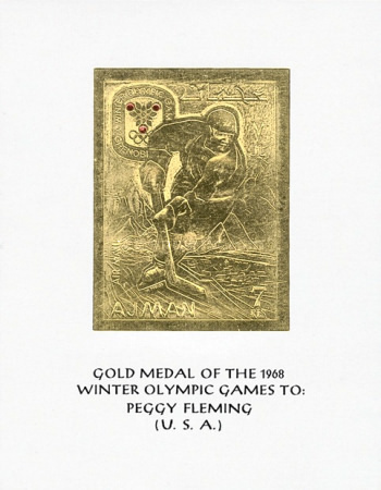 [Airmail - Winter Olympic Games - Grenoble, France, Typ HW]