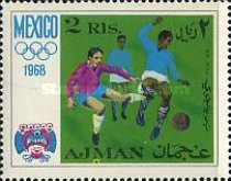 [Airmail - Olympic Games - Mexico City, Mexico, Typ IB]