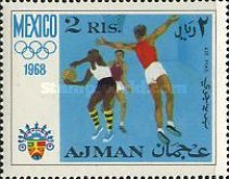 [Airmail - Olympic Games - Mexico City, Mexico, Typ IC]