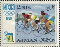 [Airmail - Olympic Games - Mexico City, Mexico, Typ ID]