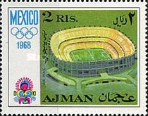 [Airmail - Olympic Games - Mexico City, Mexico, Typ IE]