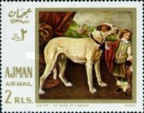 [Airmail - European Paintings - Hunting Dogs, Typ IV]