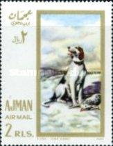 [Airmail - European Paintings - Hunting Dogs, Typ IW]
