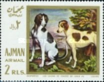 [Airmail - European Paintings - Hunting Dogs, Typ IY]