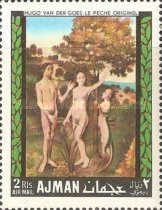 [Airmail - European Paintings - Adam and Eve, Typ JI]