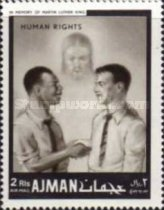 [Airmail - International Human Rights Year, Typ JR]
