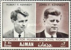 [Commemorating Senator Robert F. Kennedy, Typ JX]