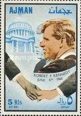 [Airmail - Commemorating Senator Robert F. Kennedy, Typ JY]