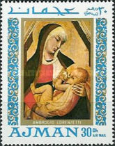 [Airmail - Madonna Paintings, Typ LB]