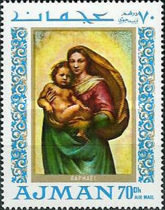 [Airmail - Madonna Paintings, Typ LC]