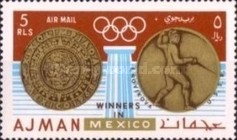 [Olympic Games - Mexico City, Mexico - Gold Medal Winners, Typ LQ1]