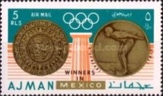 [Olympic Games - Mexico City, Mexico - Gold Medal Winners, Typ LR1]