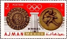 [Olympic Games - Mexico City, Mexico - Gold Medal Winners, Typ LS]