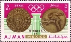 [Olympic Games - Mexico City, Mexico - Gold Medal Winners, Typ LT1]