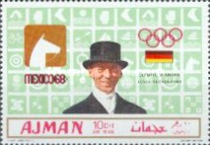 [Olympic Games - Mexico City, Mexico - Gold Medal Winners, type PW]
