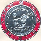 [Airmail - First Manned Moon Landing, Typ QW3]