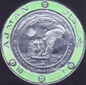 [Airmail - First Manned Moon Landing, Typ QW7]