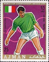 [Airmail - Football World Cup - Mexico, type TE]