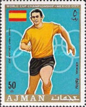 [Airmail - Football World Cup - Mexico, type TF]
