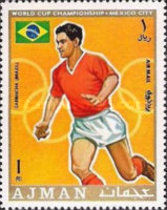 [Airmail - Football World Cup - Mexico, type TH]