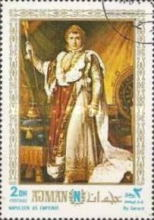 [Airmail - The 200th Anniversary of the Birth of Napoleon Bonaparte, 1769-1821, Typ TW]