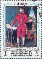 [Airmail - Paintings by Jean Auguste Dominique Ingres, 1780-1867, Typ XJ]