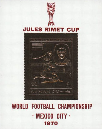 [Airmail - Football World Cup - Mexico, type XUT2]