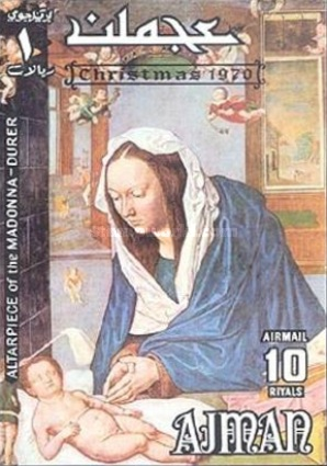 [Airmail - Christmas - Paintings by Albrecht Durer, Typ XYY]