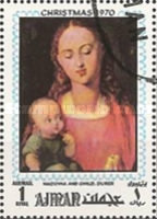 [Airmail - Christmas - Paintings by Albrecht Durer, Typ XZ]