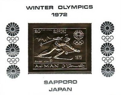 [Airmail - Winter Olympic Games - Sapporo, Japan, Typ YD1]