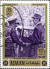 [Airmail - General Charles de Gaulle, Typ YI]