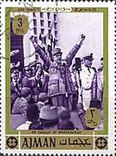 [Airmail - General Charles de Gaulle, Typ YL]