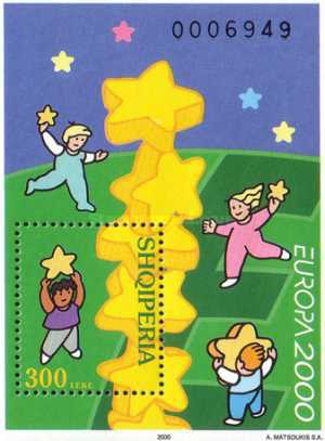 [EUROPA Stamp - Tower of 6 Stars, Typ ]