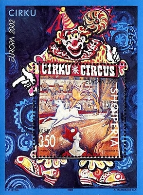 [EUROPA Stamps - The Circus, Typ ]