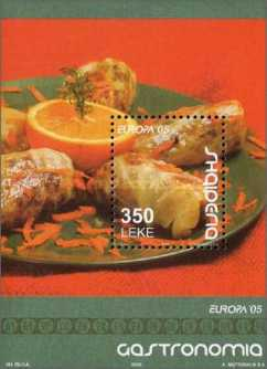[EUROPA Stamps - Gastronomy, Typ ]
