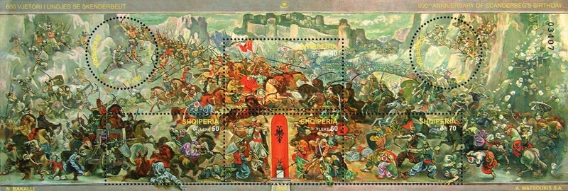 [The 600th Anniversary of the Birth of Skanderbeg, Typ ]