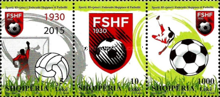 [The 85th Anniversary of the Albanian Football Federation, Typ ]