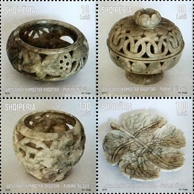 [Albanian National Handicrafts - Works in Stone, Typ ]