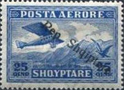 [Airmail Stamps of 1927 Overprinted