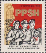 [The 35th Anniversary of the Albanian People's Army, Typ AVI]