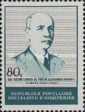 [The 100th Anniversary of the Birth of Alexander Xhuvani, 1880-1961, type AYF]