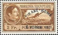 [Airmail - Opening of the Route Tirana-Rome - Airmail Stamps of 1930 Overprinted