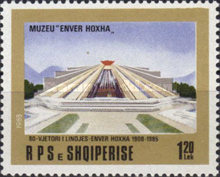 [The 80th Anniversary of the Birth of Enver Hoxha, Typ BLA]