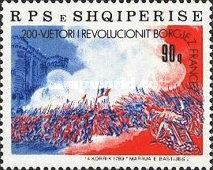 [The 200th Anniversary of the French Revolution, Typ BLX]