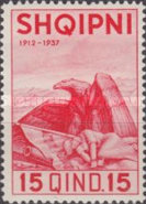 [The 25th Anniversary of Albanian Independence, Typ BM1]
