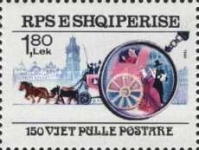 [The 150th Anniversary of Stamps, type BNF]