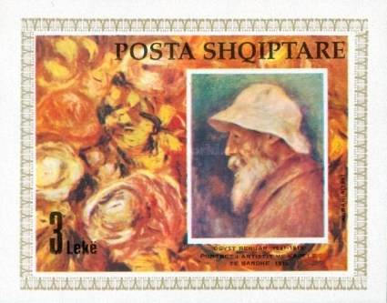 [The 150th Anniversary of the Birth of Pierre Auguste Renoir, Typ BOM]