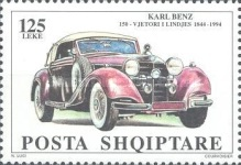 [The 150th Anniversary of the Birth of  Carl Benz, Typ BRT]