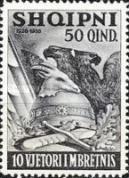 [The 10th Anniversary of the Reign of King Zog I, type BU1]