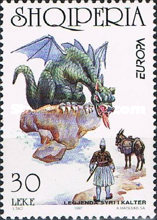[EUROPA Stamps - Tales and Legends -